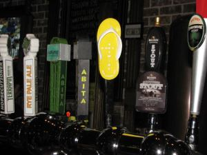 Some of the Craft Beer Choices